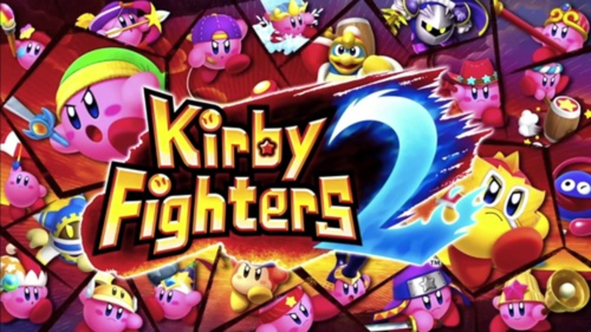 Kirby Fighters 2 Logo