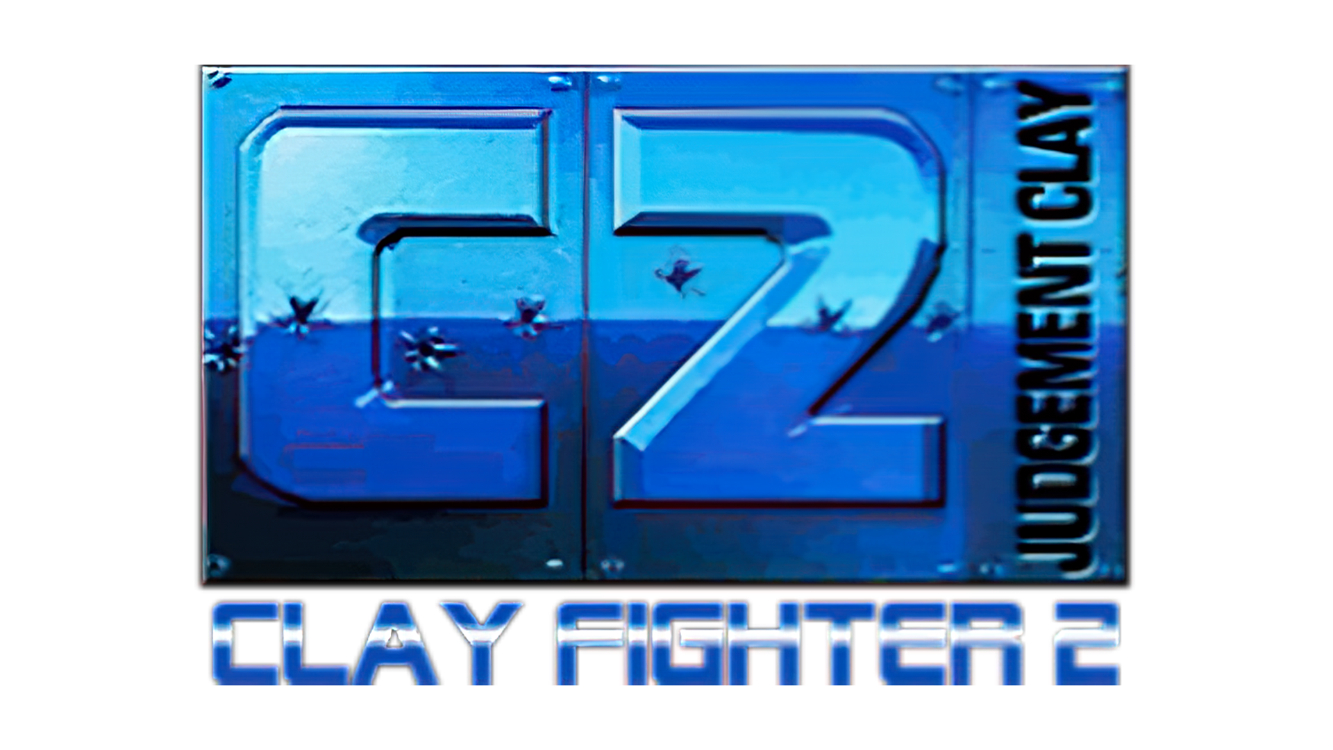 ClayFighter 2: Judgment Clay Logo
