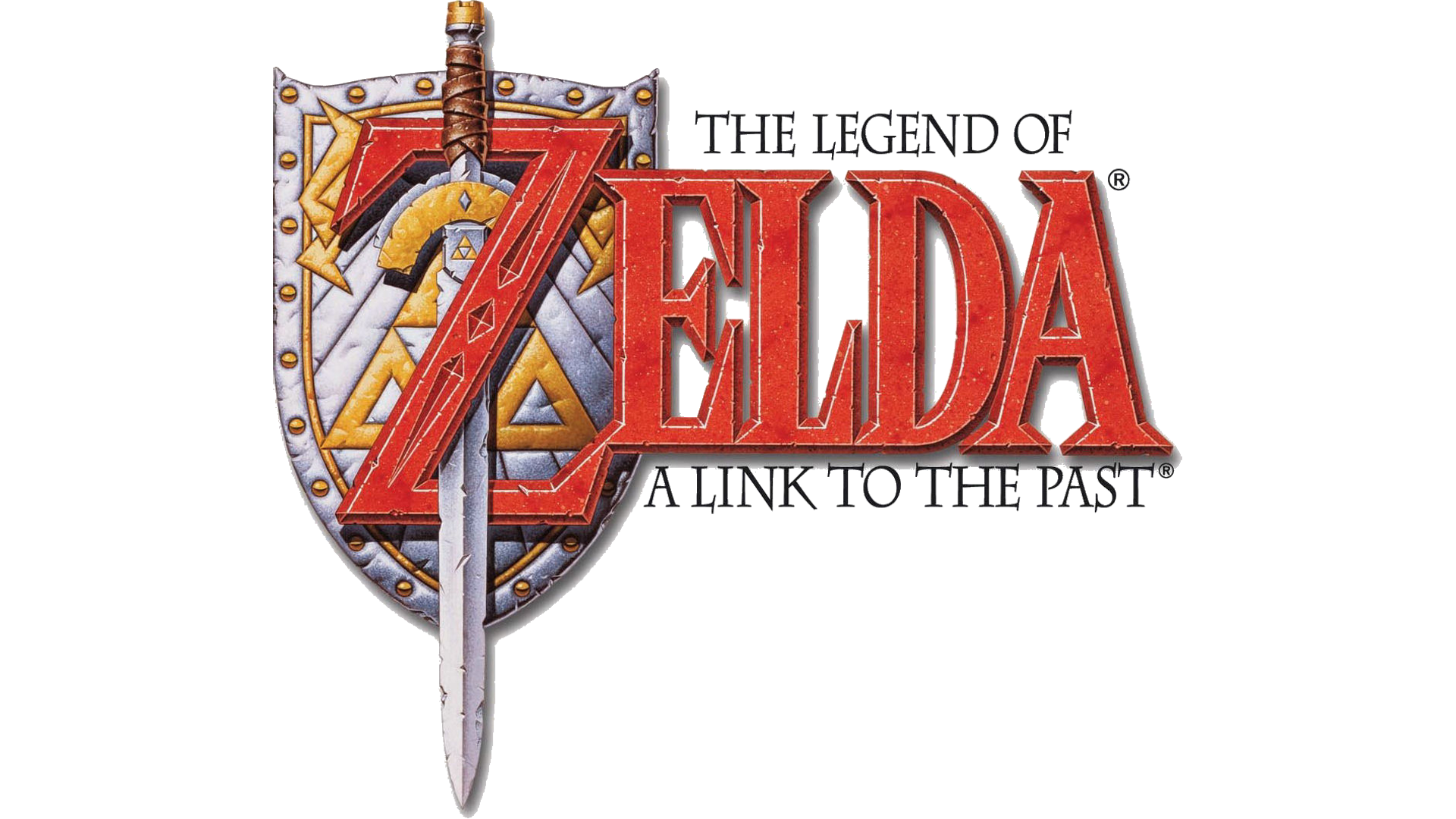 The Legend of Zelda: A Link To The Past Logo